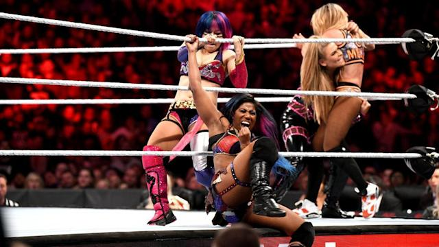 Asuka on the road to her Royal Rumble win. (Photo: WWE.com)