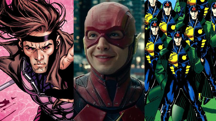 'Gambit', 'The Flash' and 'Multiple Man' are all superhero movies trapped in development hell. (Credit: Marvel Comics/Warner Bros)