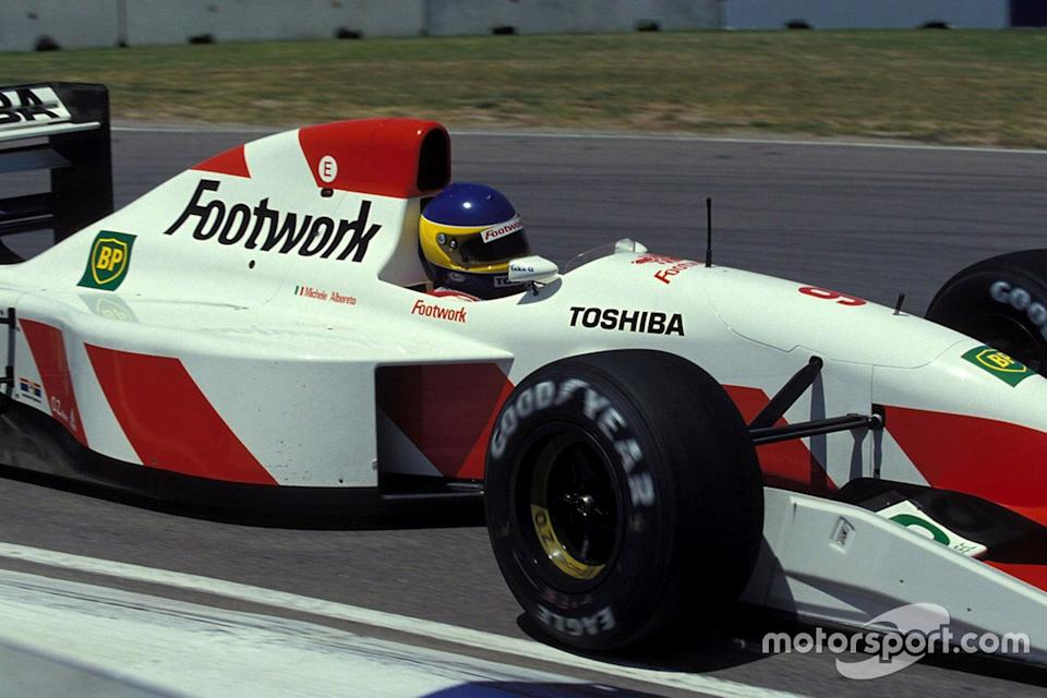 "Alboreto (and Arrows) enjoyed a renaissance in 1992, thanks to Mugen-Honda V10s and a trustworthy FA13 chassis.<span class=""copyright"">Ercole Colombo</span>"