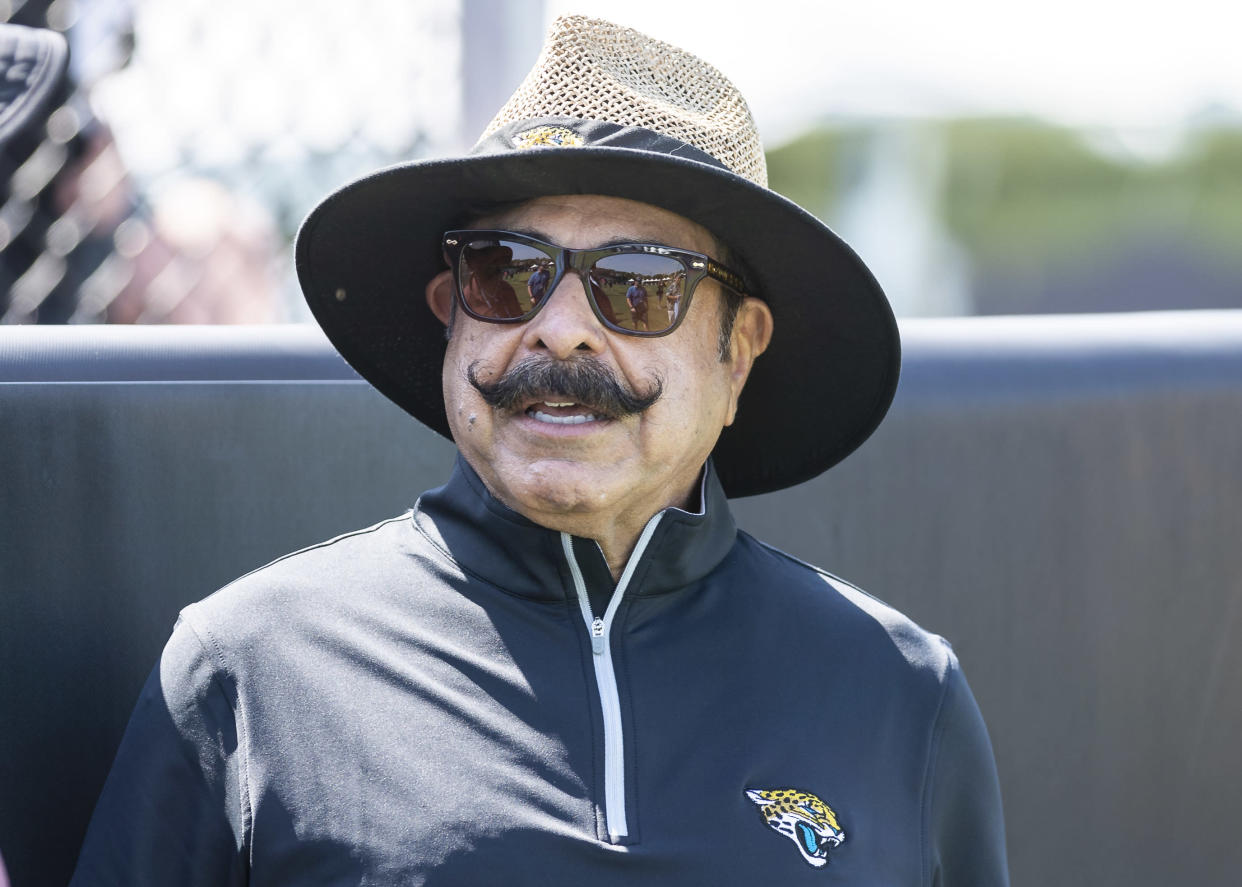Jacksonville Jaguars team owner Shad Khan said head coach Urban Meyer will have to