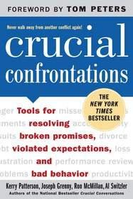 The New York Times best-seller 'Crucial Confrontations' Click here for high-resolution version