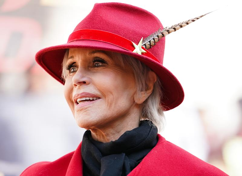 Actress and activist Jane Fonda, 82, details her tumultuous life in a revealing new interview. (Photo: Rachel Luna/Getty Images)