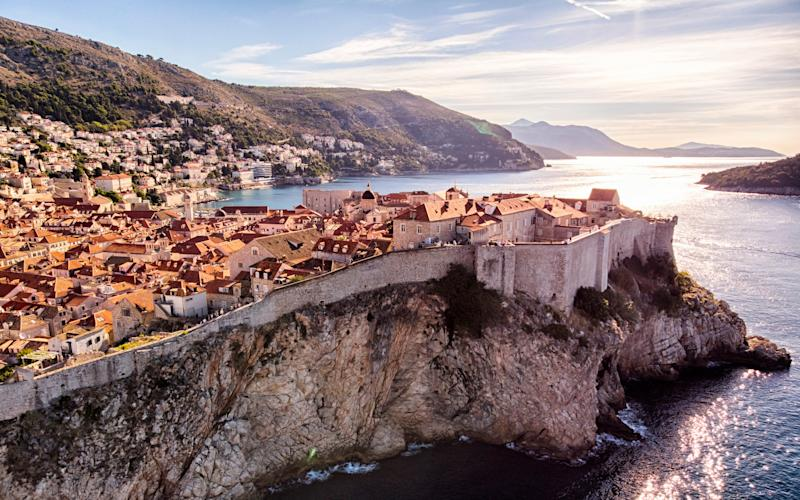 The Adriatic Sea hems lively Dubrovnik, which is known for its distinctive Old Town - SAMANTHA TRAN