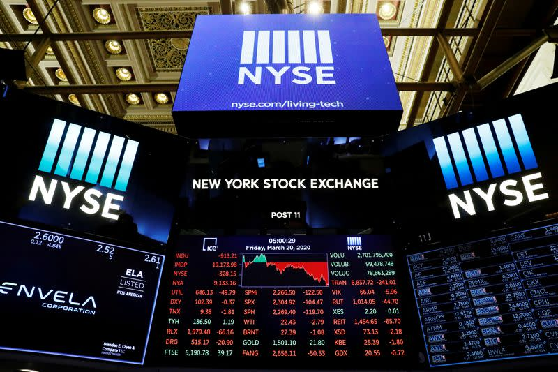 Equities drop as evidence mounts of deep global recession