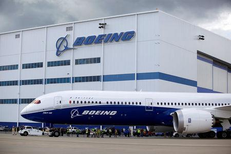 FILE PHOTO - The new Boeing 787-10 Dreamliner taxis past the Final Assembly Building at Boeing South Carolina in North Charleston