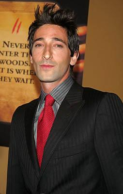 "Premiere: <a href=""/movie/contributor/1800018941"">Adrien Brody</a> at the NY premiere of Touchstone's <a href=""/movie/1808488393/info"">The Village</a> - 7/26/2004<br>Photo: <a href=""http://www.wireimage.com"">Jim Spellman, Wireimage.com</a>"