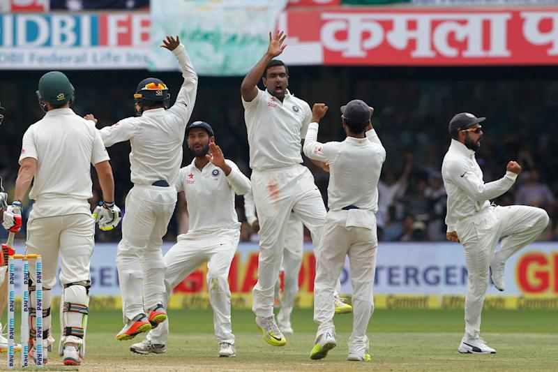India beat Australia by 75 runs in 2nd Test
