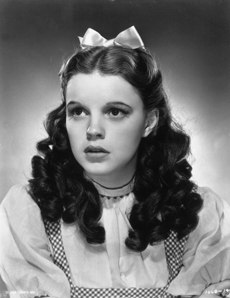 In a promotional portrait for <em>The Wizard of Oz </em>in 1939