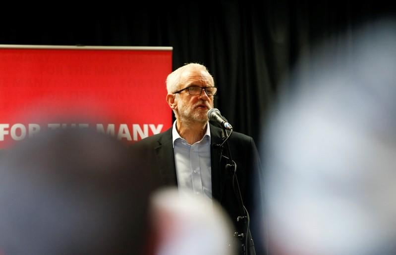 Corbyn - We will not do coalition deal after Dec. 12 election