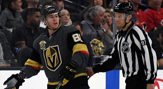 The Vegas Golden Knights are finally starting to struggle. (Ethan Miller/Getty Images)