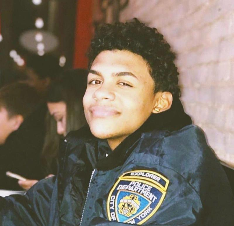 "Lesandroune ""Junior"" Guzman-Feliz, 15, was fatally stabbed on a sidewalk in New York on the night of June 20."