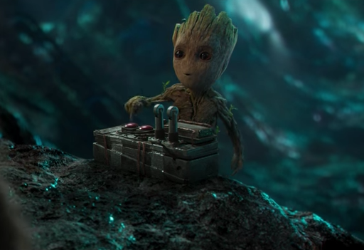 Baby Groot in the 'Guardians of the Galaxy Vol. 2' teaser