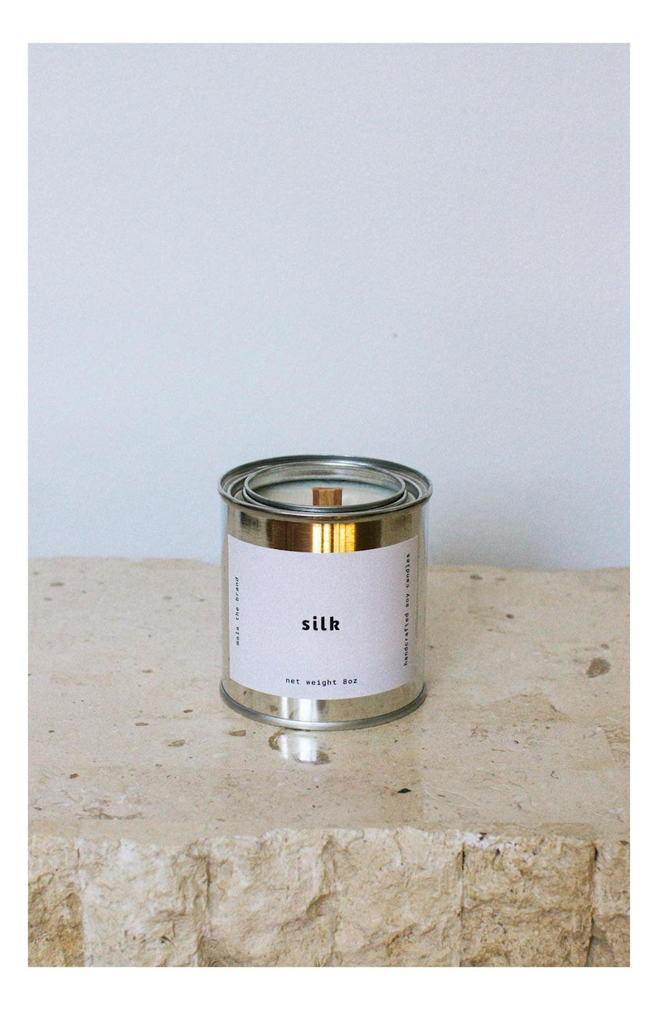 <p>The <span>Mala the Brand Candle</span> ($30) will set the mood with the ultimate sensorial experience. It's a wood-wick candle that crackles as it burns, so it sounds like a relaxing fireplace. It comes in a variety of fresh and cozy scents like silk, cabin fever, fireside, morning dew, and succulent. If you're shopping for someone who loves ASMR, this candle is a must!</p>