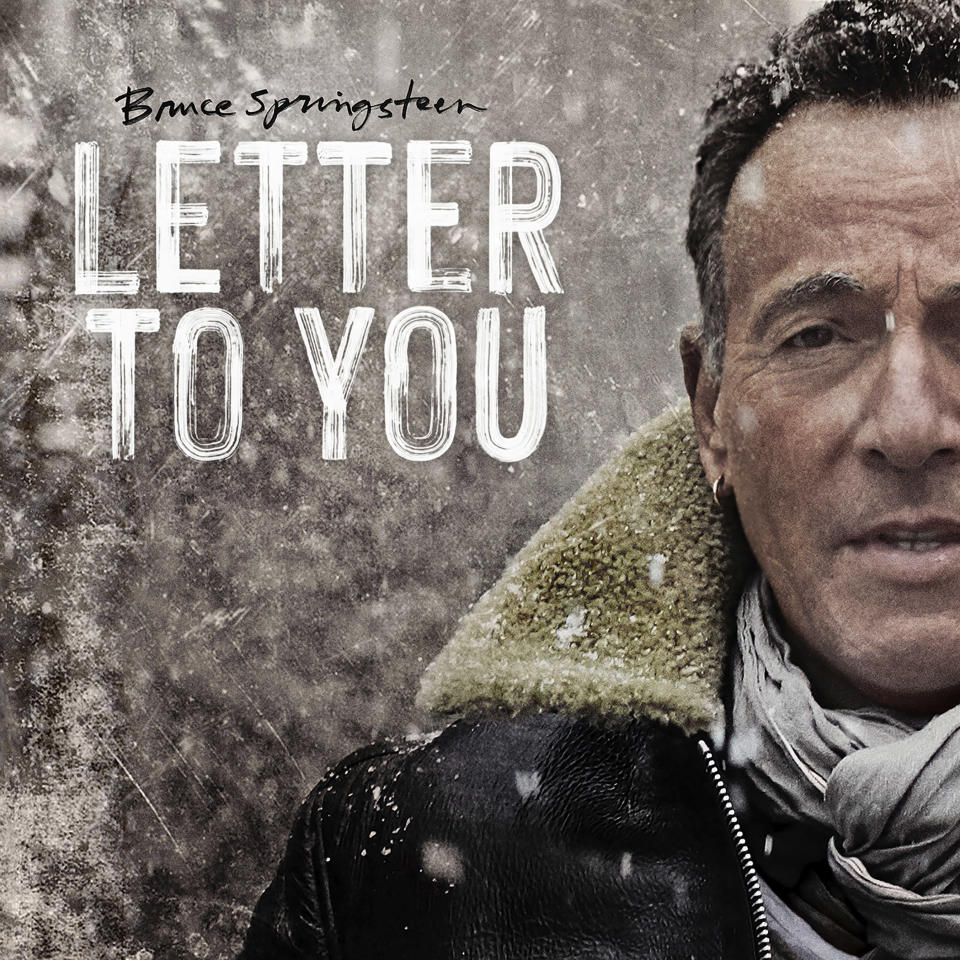 "This cover image released by Columbia Records shows ""Letter To You"" by Bruce Springsteen. The album will be released on Oct. 23. (Columbia Records via AP)"