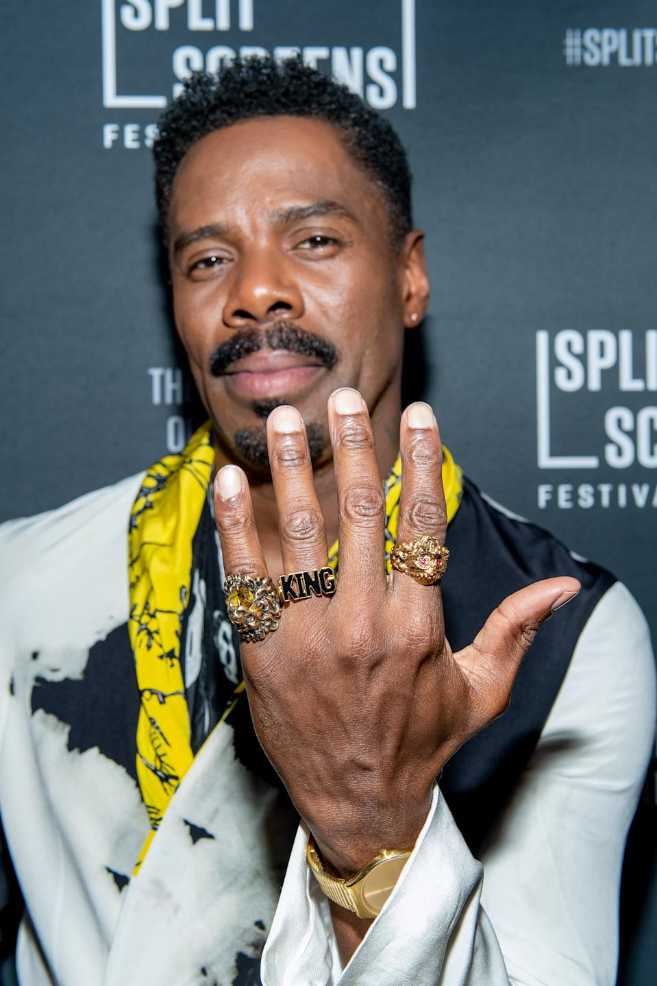 "NEW YORK, NEW YORK - JUNE 02: Colman Domingo attends the ""Fear The Walking Dead"" Season 5 Premiere during the 2019 Split Screens TV Festival at IFC Center on June 2, 2019 in New York City. (Photo by Roy Rochlin/Getty Images)"