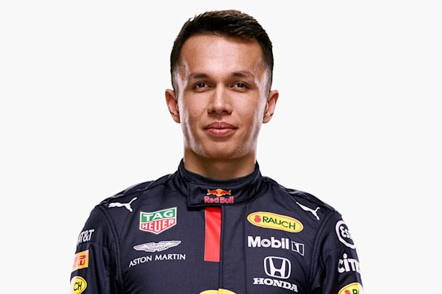 "Alexander Albon, Red Bull Racing <span class=""copyright"">Red Bull Content Pool</span>"