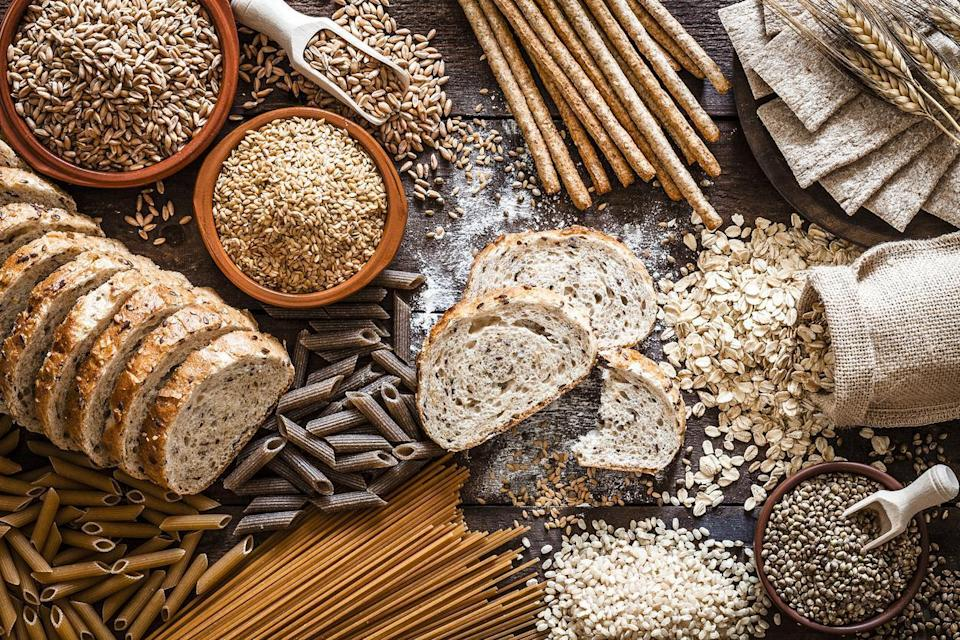 """<p>Uncooked grains and pastas should always be stored in an airtight plastic or glass container. Whether you're storing oats, lentils, quinoa, rice or other <a href=""""https://www.thedailymeal.com/what-is-the-shelf-life-of-rice-flour-pantry-staples?referrer=yahoo&category=beauty_food&include_utm=1&utm_medium=referral&utm_source=yahoo&utm_campaign=feed"""" rel=""""nofollow noopener"""" target=""""_blank"""" data-ylk=""""slk:pantry staples"""" class=""""link rapid-noclick-resp"""">pantry staples</a>, it's crucial you keep them sealed with more than just a half-open and flimsy box. Common household pests such as mice and bugs can crawl into these containers easily, and excess moisture from the surrounding air may cause these items to go bad more quickly.</p>"""