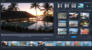 The Highlight Reel automatically and intelligently selects users' best shots and clips to create stunning slideshows and movies.
