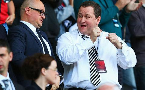 Mike Ashley - Credit: GETTY IMAGES