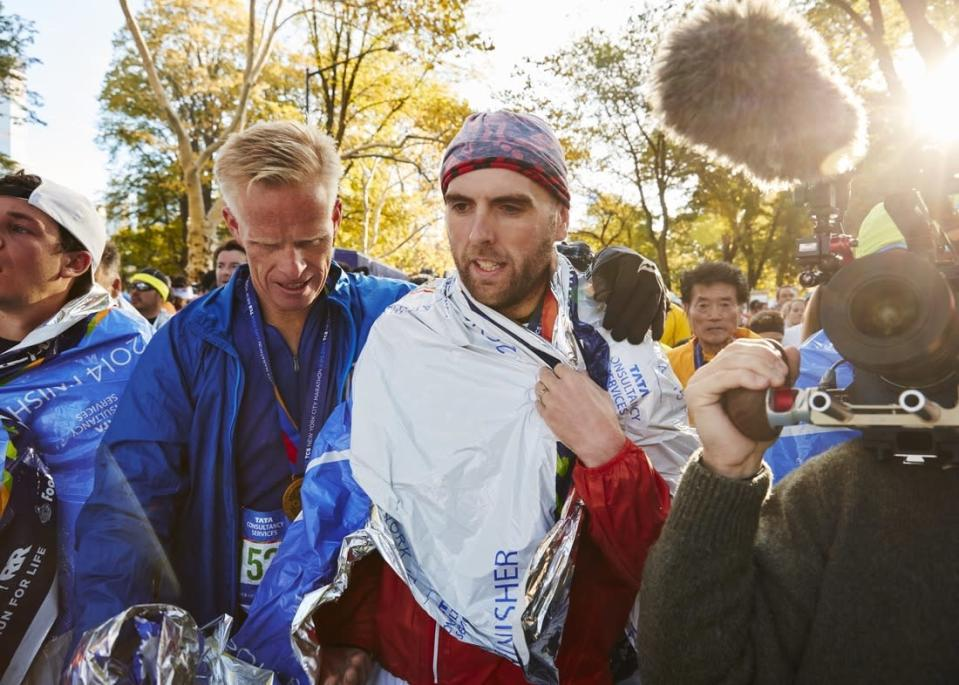 <p>Racing isn't about how long it takes you to get from the start to the finish, it's the adventure you have along the way, the people you meet, and the unique moments you share.</p><p><i>—Simon Wheatcroft, 33, Doncaster, United Kingdom. Ultramarathoner.</i></p>
