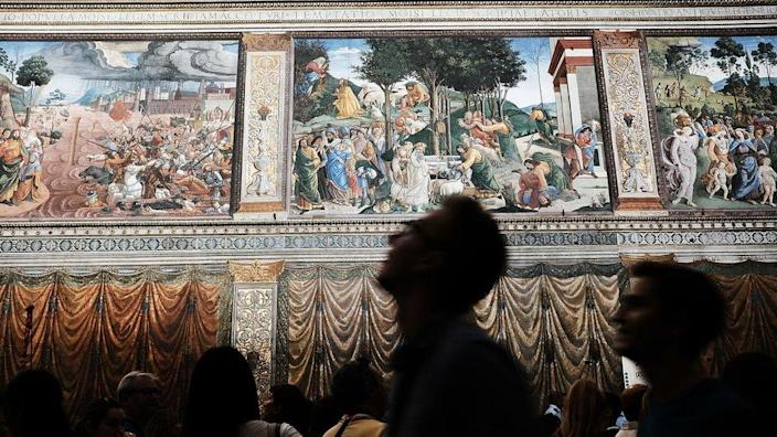 The Sistine Chapel won't be as busy as normal and face masks will have to be worn