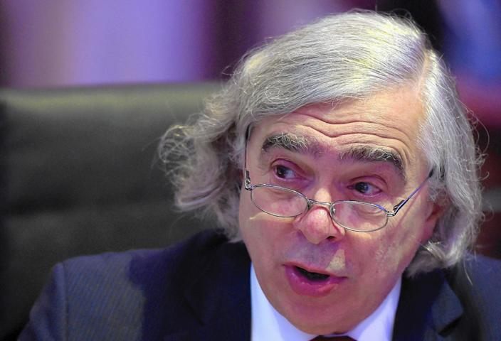 Then-Energy Secretary Ernest Moniz attended the Paris climate summit in 2015.