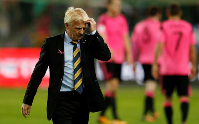 Gordon Strachan quits as Scotland manager after missing out on World Cup