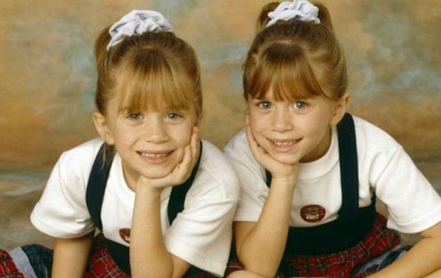 Mary-Kate and Ashley Olsen played Michelle Tanner on <em>Full House</em>, part of ABC's TGIF lineup in the '90s (Photo: ABC).