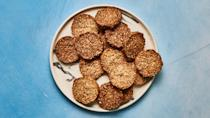 "These crackers are gluten-free, Paleo, vegan.....and Whole30-approved. <a href=""https://www.bonappetit.com/recipe/mixed-nut-and-seed-crackers?mbid=synd_yahoo_rss"" rel=""nofollow noopener"" target=""_blank"" data-ylk=""slk:See recipe."" class=""link rapid-noclick-resp"">See recipe.</a>"