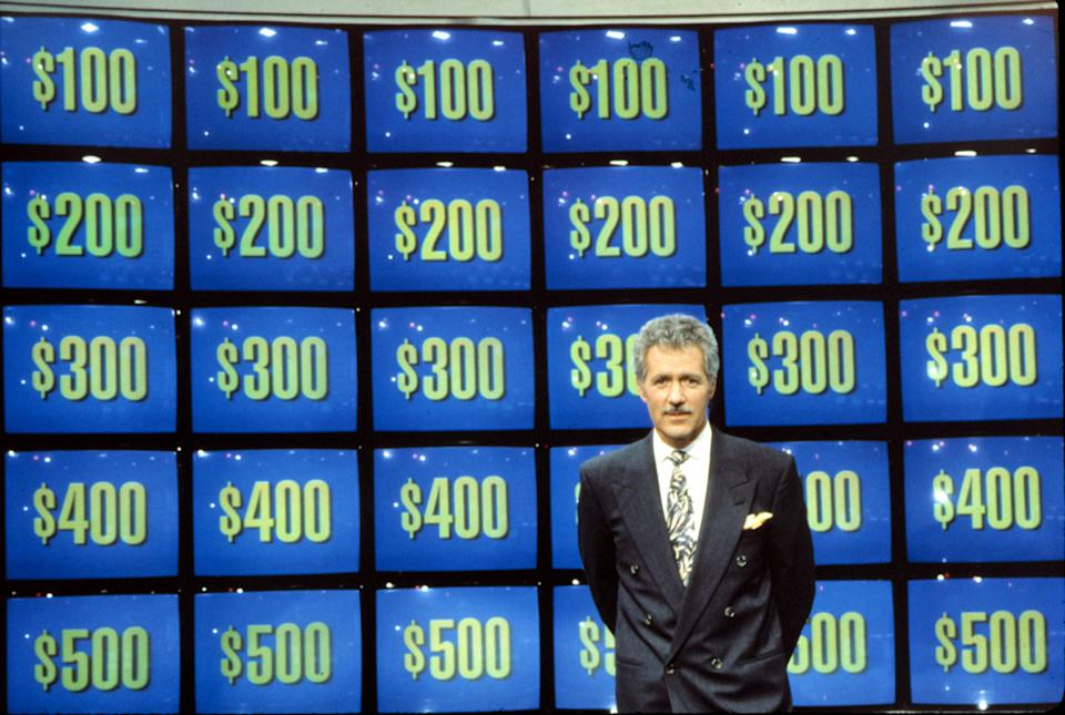 "Jeopardy host Alex Trebek in 1984.<span class=""copyright"">ABC/Everett Collection</span>"