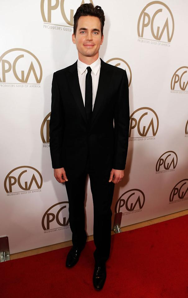 BEVERLY HILLS, CA - JANUARY 26:  Actor Matt Bomer arrives at the 24th Annual Producers Guild Awards held at The Beverly Hilton Hotel on January 26, 2013 in Beverly Hills, California.  (Photo by Jeff Vespa/WireImage)