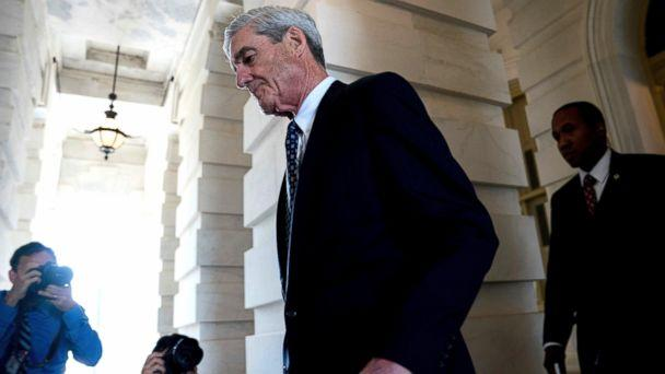 Special Counsel Robert Mueller departs Capitol Hill