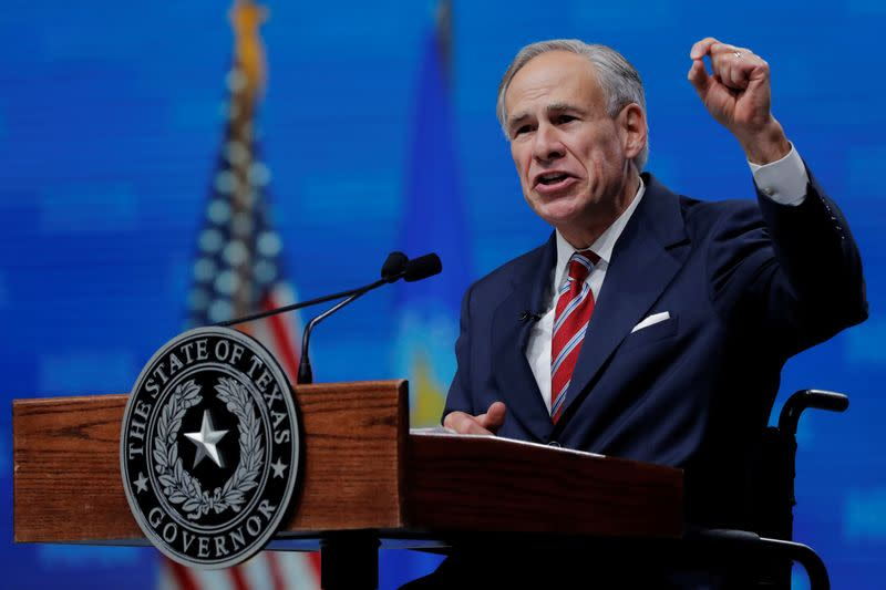 Texas governor shuts down drop-off sites for early mail votes
