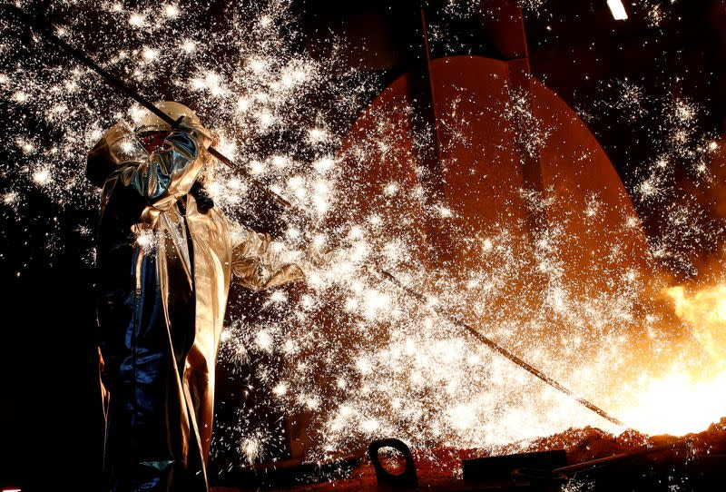 Germany's top union calls for stepped-up support of steel sector