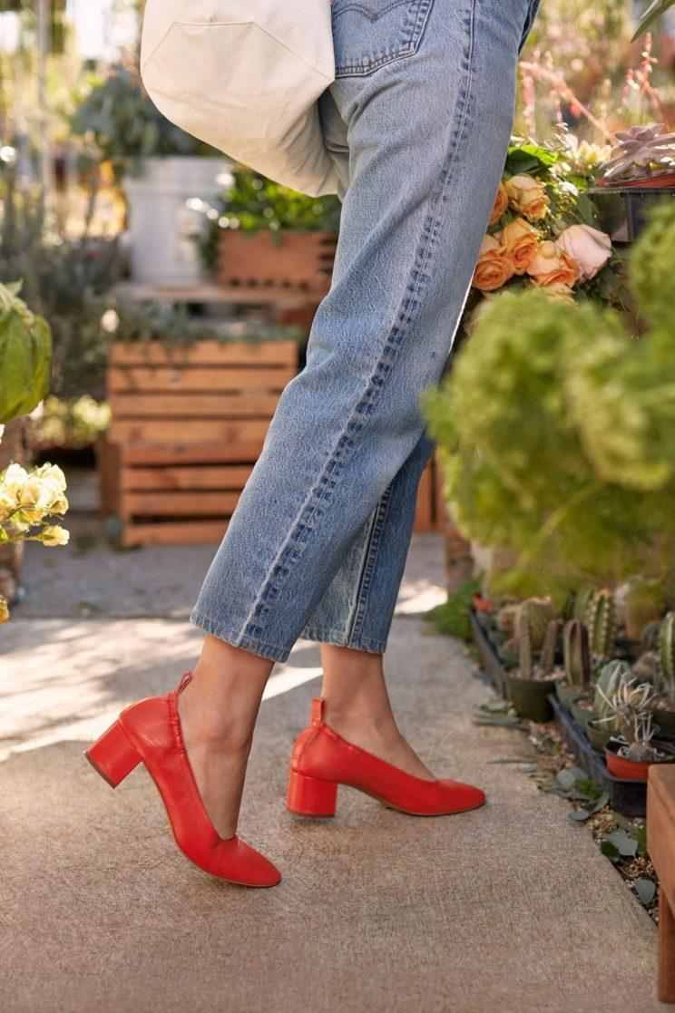 Everlane will debut its new Day Collection of shoes at two pop-up shops this weekend. (Photo: Courtesy of Everlane)