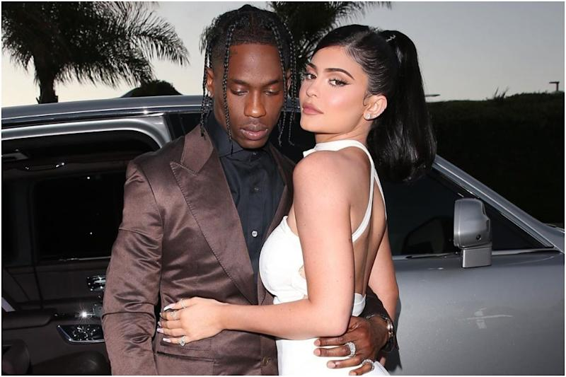 Kylie Jenner Bares It All with Beau Travis Scott for Playboy Magazine