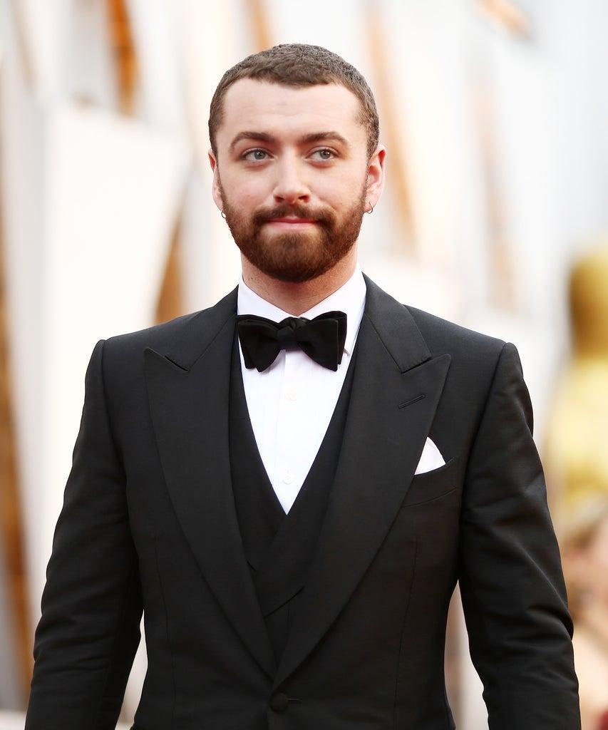 HOLLYWOOD, CA – FEBRUARY 28: Singer Sam Smith attends the 88th Annual Academy Awards at Hollywood & Highland Center on February 28, 2016 in Hollywood, California. (Photo by Christopher Polk/Getty Images)