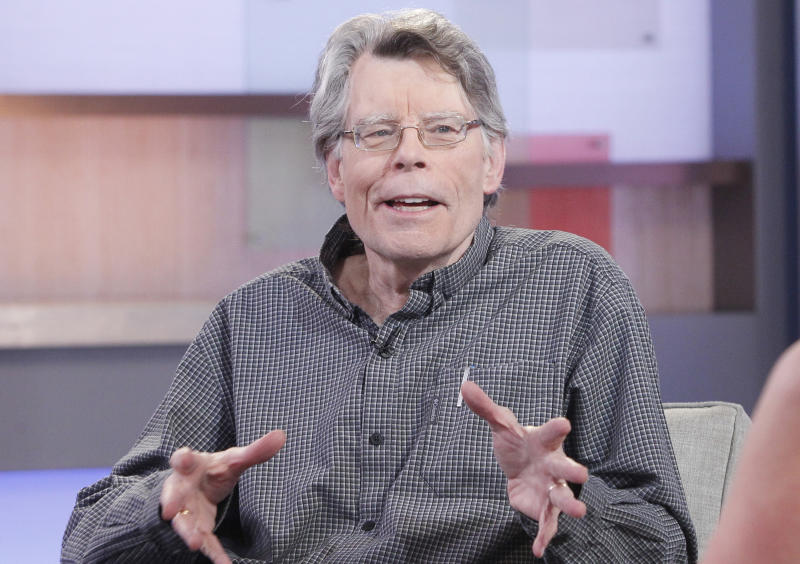 Stephen King as a guest on GOOD MORNING AMERICA, 11/2/15. (Photo by Lou Rocco/Walt Disney Television via Getty Images)