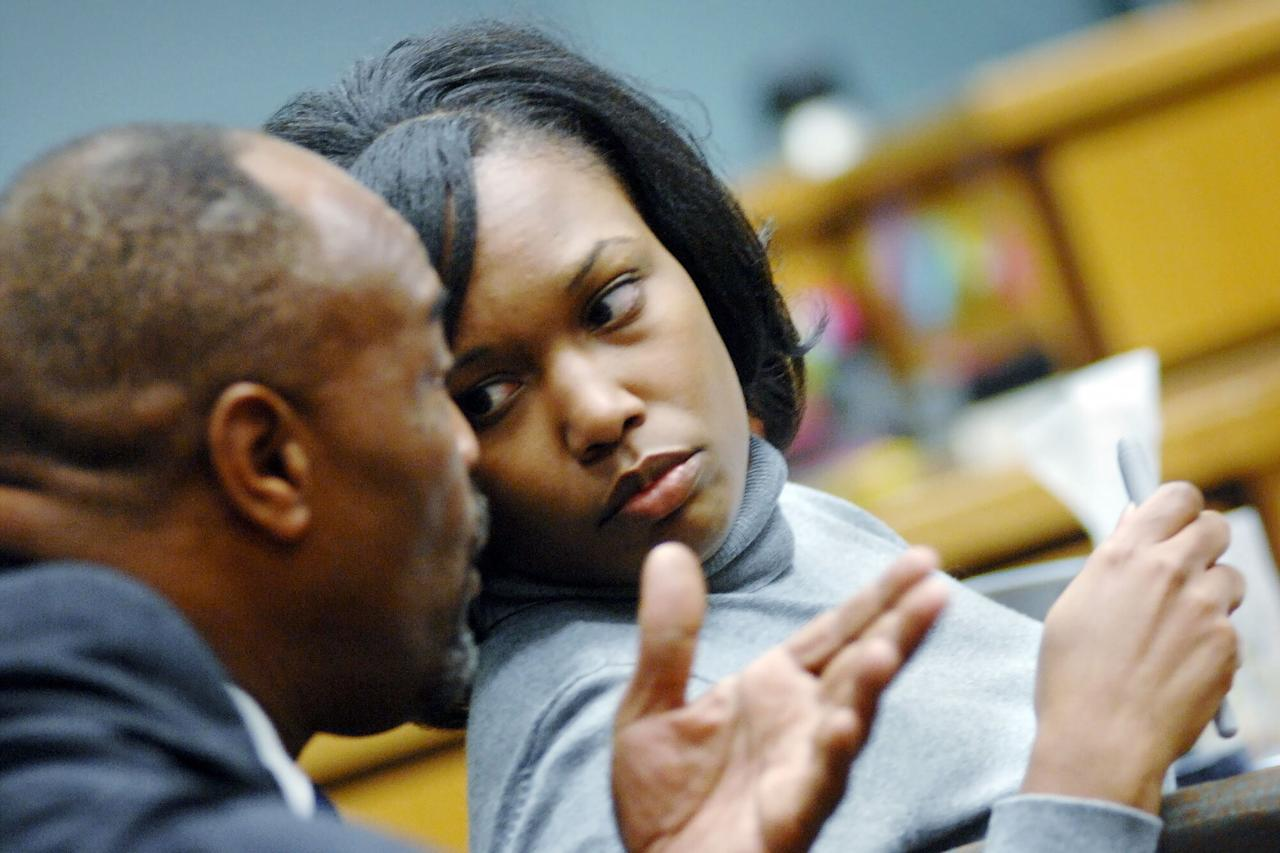 Carla Ann Hughes sits in a Mississippi prison, serving two consecutive life sentence for murder. The former middle school teacher from Jackson was convicted in 2009 of capital murder for the November 29, 2006, slayings of her lover's pregnant fiancee, Avis Banks, and Banks' unborn baby.  Police found Banks, 27, lying in a pool of blood in the garage of the Ridgeland home she shared with Keyon Pittman, who was seeing Hughes. Banks was five months pregnant. She was shot four times —in the leg, chest and head — and then stabbed multiple times in the face and neck.  Prosecutors argued Hughes killed Banks so she could be with Pittman, a colleague at Chastain Middle School in Jackson. However, she has always proclaimed her innocence.