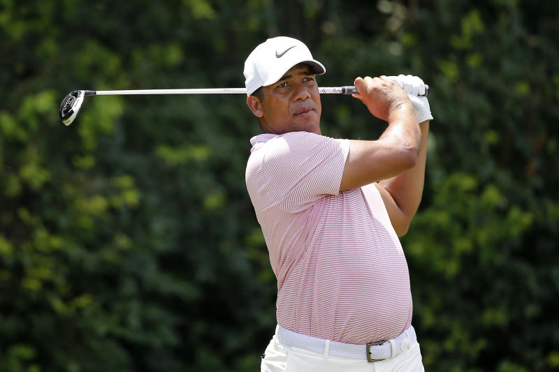 After playing in the opening round, Jhonattan Vegas withdrew from the Barracuda Championship on Friday to rush home for the birth of his son.