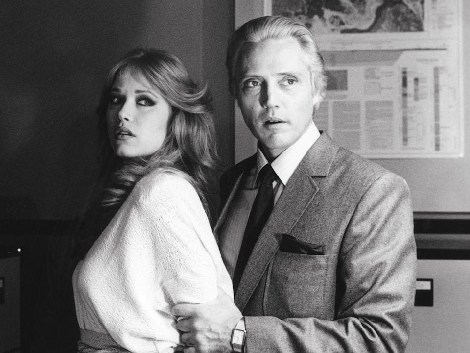 Tanya Roberts and Christopher Walken in A View to a KillRex Features