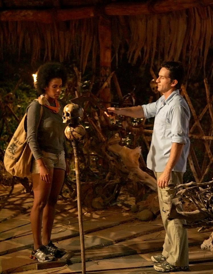 Erica was the second person to be voted off Survivor: Fiji. She was eliminated due to being a big 'physical threat.'