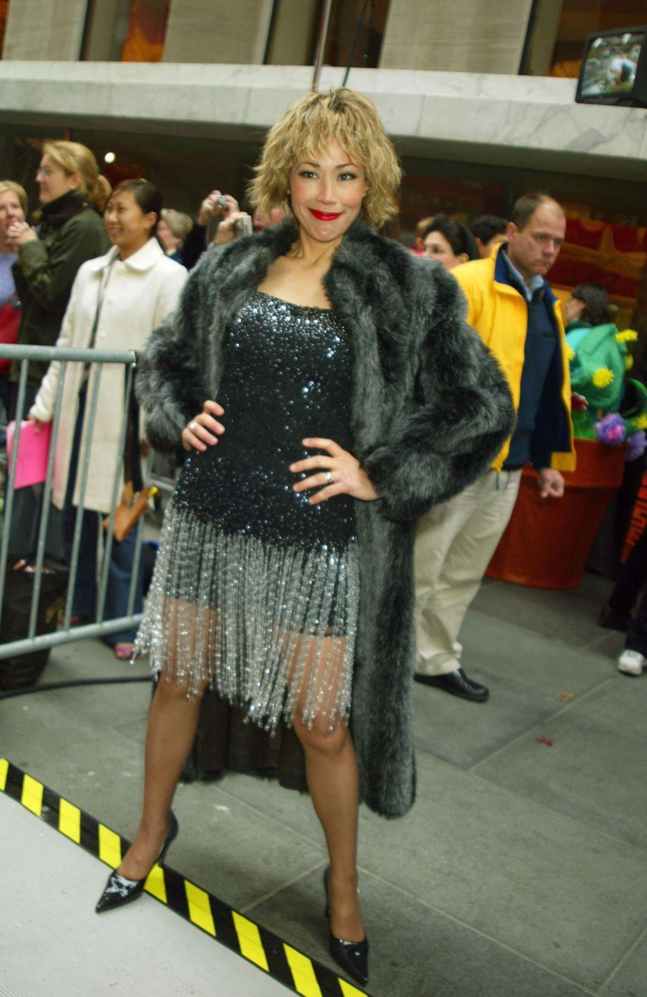 "<p>Well before Sheinelle created her Tina Turner look in 2018, Ann wore her own costume to honor the ""Proud Mary"" singer. Much like Sheinelle's costume, Ann's Tina Turner getup included <em><u>plenty</u></em> of glitz and bling. </p>"