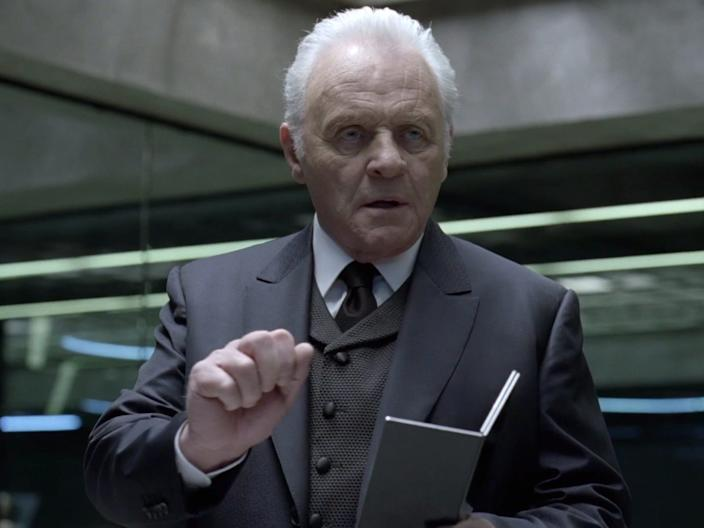 """Anthony Hopkins as Dr. Ford in season one of """"Westworld."""""""