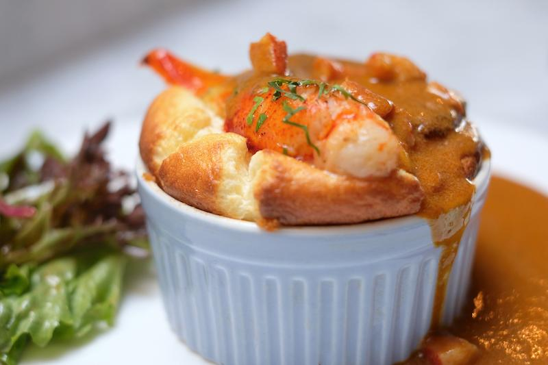 Lobster souffle. Photo: Souffle