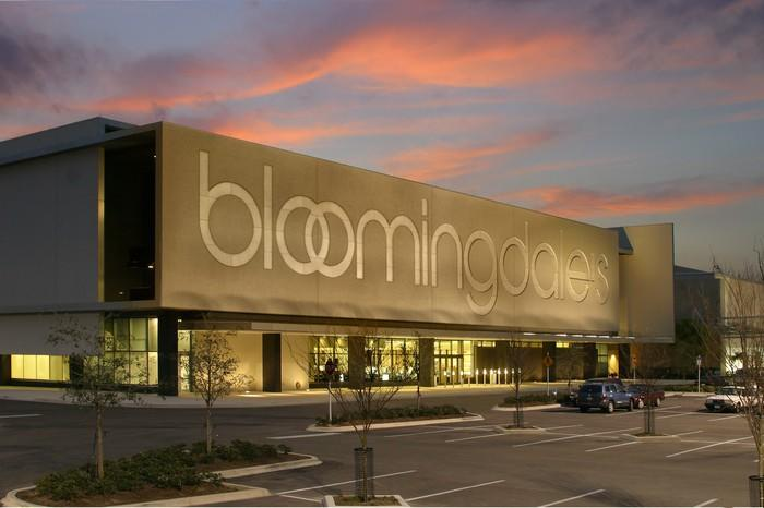 A Bloomingdale's store.