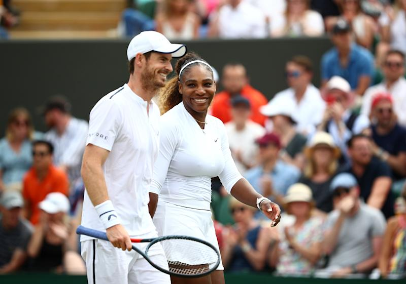 Murray and Serena Williams joined forces in the mixed doubles at Wimbledon last summer