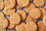 """<p>Don't be afraid to go old-school with your dessert table — because who doesn't love peanut butter cookies?</p><p>Get the recipes from <a href=""""https://www.delish.com/cooking/g2145/peanut-butter-recipes/"""" rel=""""nofollow noopener"""" target=""""_blank"""" data-ylk=""""slk:Delish"""" class=""""link rapid-noclick-resp"""">Delish</a>.</p>"""