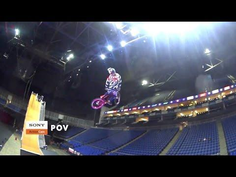 "<p>Extreme sports icon <a class=""link rapid-noclick-resp"" href=""https://www.bicycling.com/news/a20011924/watch-travis-pastrana-lands-insane-mountain-bike-jump/"" rel=""nofollow noopener"" target=""_blank"" data-ylk=""slk:Travis Pastrana"">Travis Pastrana</a> pulled off this record-setting stunt on a mountain bike during a 2016 practice session for the Nitro Circus tour. </p><p><a href=""https://www.youtube.com/watch?v=MFxIH0EhEW4"" rel=""nofollow noopener"" target=""_blank"" data-ylk=""slk:See the original post on Youtube"" class=""link rapid-noclick-resp"">See the original post on Youtube</a></p>"