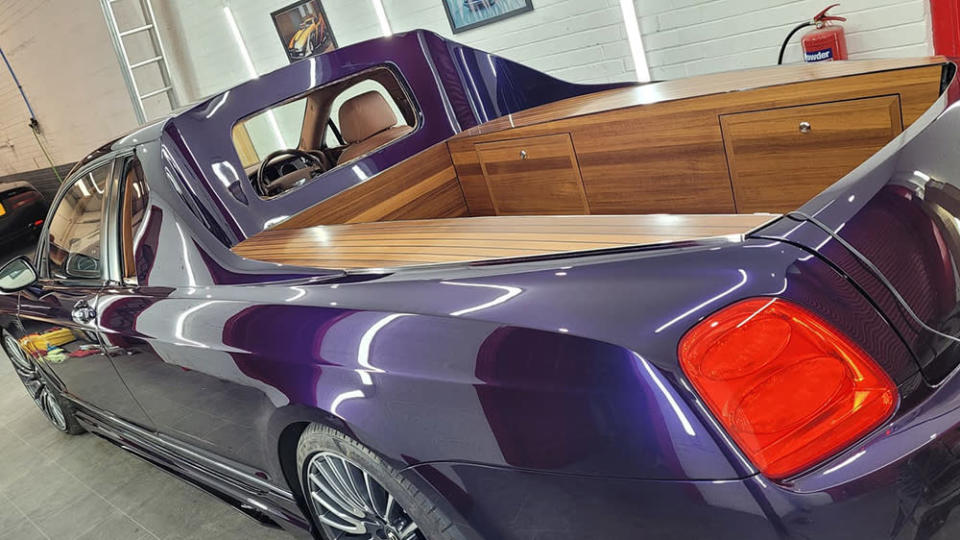 DC Customs's Flying Spur truck conversion